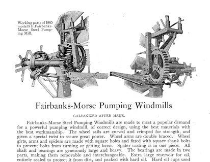 Fairbanks Morse Model 45 Windmill Service Manual